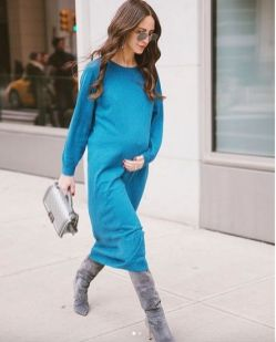 50 Comfy and Stylish Maternity Outfits Street Style Looks 24