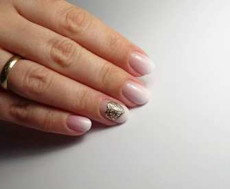 50 Glam Gold Girly Nail Art Looks Ideas 33