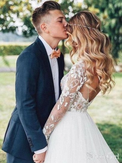 50 Natural Loose Hairstyle Looks for Brides Ideas 42