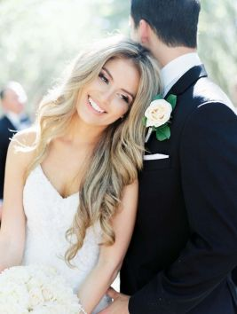 50 Natural Loose Hairstyle Looks for Brides Ideas 5