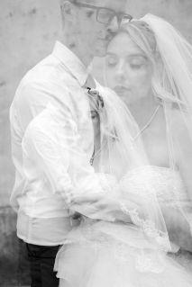 50 Romantic Wedding Double Exposure Photos Ideas 19