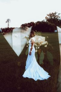 50 Romantic Wedding Double Exposure Photos Ideas 20