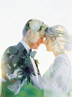 50 Romantic Wedding Double Exposure Photos Ideas 29