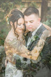 50 Romantic Wedding Double Exposure Photos Ideas 38