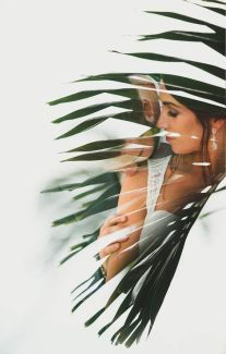 50 Romantic Wedding Double Exposure Photos Ideas 52