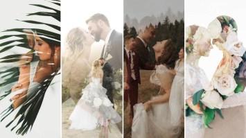 50 Romantic Wedding Double Exposure Photos Ideas