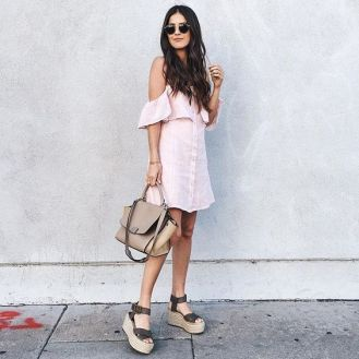 50 Ways to Wear Wedges for Spring and Summer Ideas 12