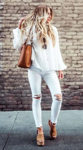 50 Ways to Wear Wedges for Spring and Summer Ideas 19