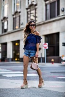 50 Ways to Wear Wedges for Spring and Summer Ideas 32