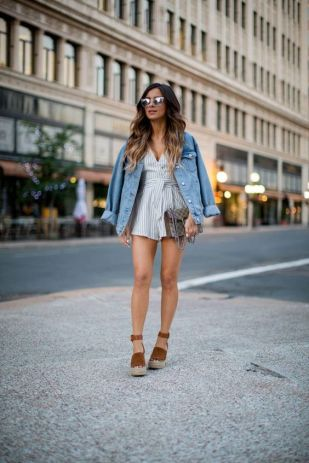 50 Ways to Wear Wedges for Spring and Summer Ideas 37