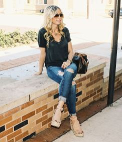 50 Ways to Wear Wedges for Spring and Summer Ideas 8