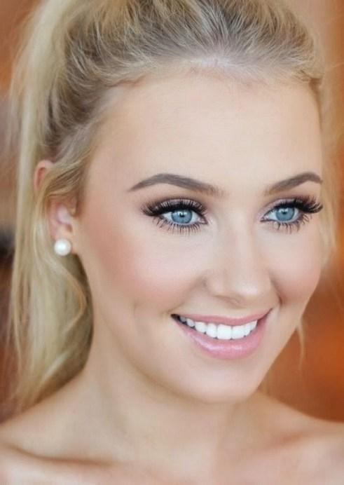 35 Inspirations Makeup Wedding For Blue Eyes 12