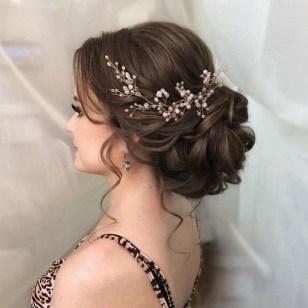 40 How Elegant Wedding Hair Accessories Ideas 40