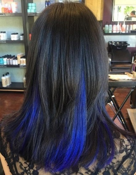 50 Best Peek A Boo Hair Color Ideas 02