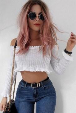 50 Best Peek A Boo Hair Color Ideas 11