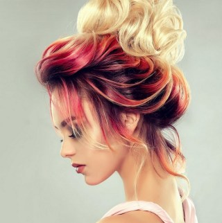 50 Best Peek A Boo Hair Color Ideas 19