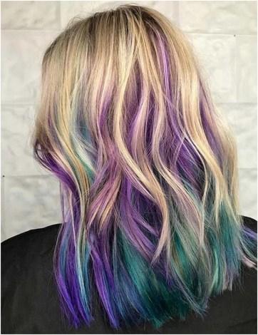 50 Best Peek A Boo Hair Color Ideas 26