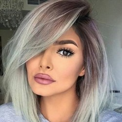 50 Best Peek A Boo Hair Color Ideas 28
