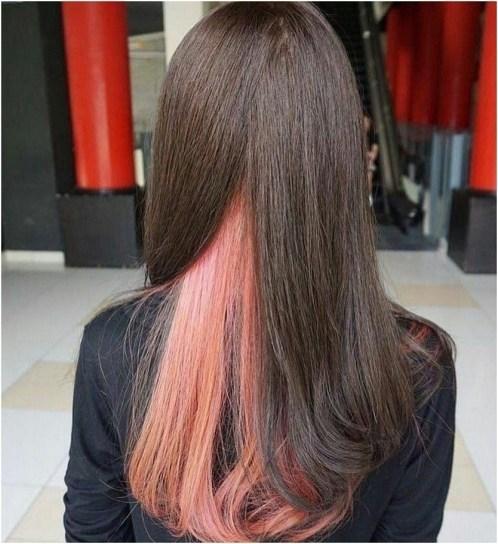 50 Best Peek A Boo Hair Color Ideas 33