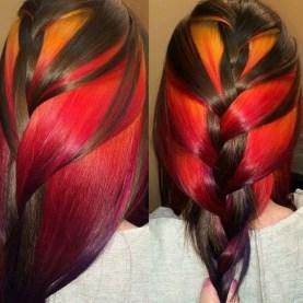 50 Best Peek A Boo Hair Color Ideas 39