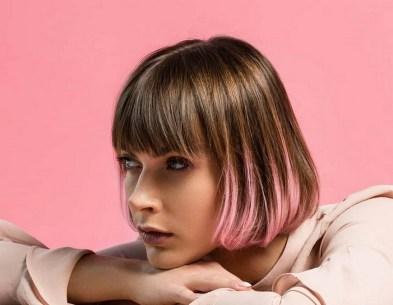 50 Best Peek A Boo Hair Color Ideas 48