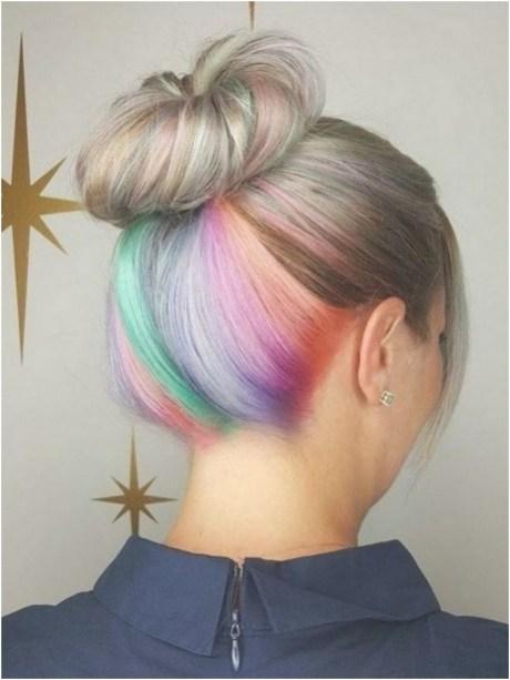 50 Best Peek A Boo Hair Color Ideas 55