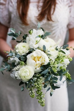 Best Romantic Peony Wedding Bouquet Inspiration 07