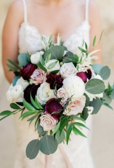 Best Romantic Peony Wedding Bouquet Inspiration 08