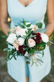 Best Romantic Peony Wedding Bouquet Inspiration 09