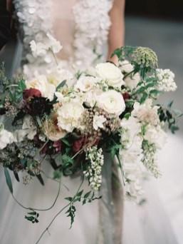 Best Romantic Peony Wedding Bouquet Inspiration 10