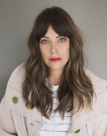 Curtain Bangs Hair Styles Ideas 10