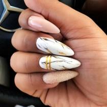 Inspiring Almond Shaped Nail for Girls 05
