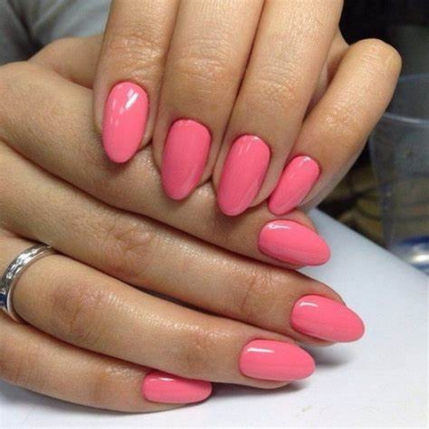 Inspiring Almond Shaped Nail for Girls 11