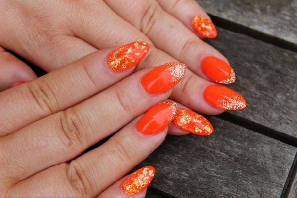 Inspiring Almond Shaped Nail for Girls 17