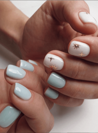 Spring Nail art Design and Colors Ideas For 2021 02