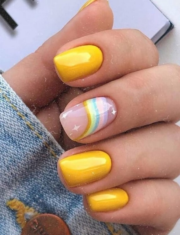Spring Nail art Design and Colors Ideas For 2021 14