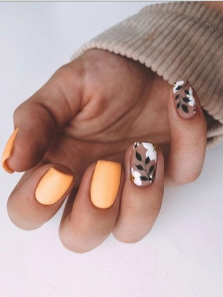 Spring Nail art Design and Colors Ideas For 2021 16