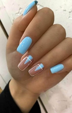 Spring Nail art Design and Colors Ideas For 2021 17