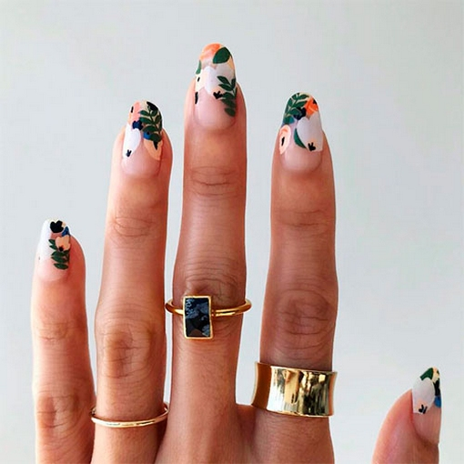 Spring Nail art Design and Colors Ideas For 2021 26