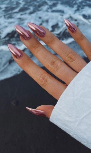 Spring Nail art Design and Colors Ideas For 2021 37