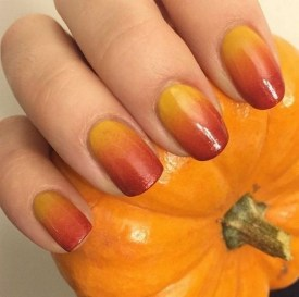 20 Adorable Fall Nail Art Ideas 16