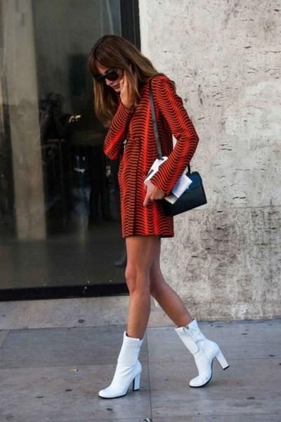 30 Stylish fall boots women outfit ideas 27