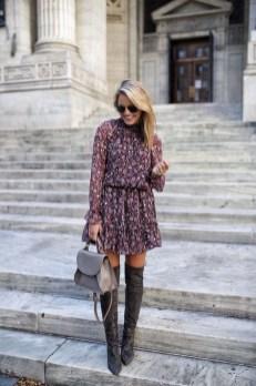30 Stylish fall boots women outfit ideas 29