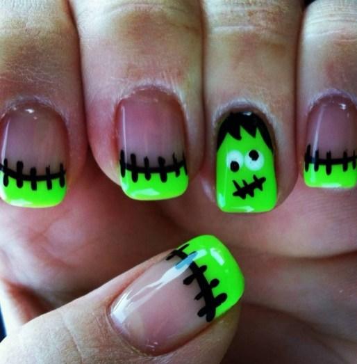 50 Cute Halloween Nail Art You Will Love 51