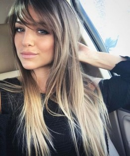 100 Ways to Look Younger with Stylish Bang Hairstyles 29