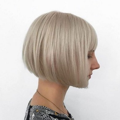 100 Ways to Look Younger with Stylish Bang Hairstyles 6