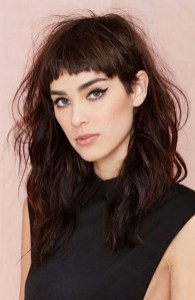 100 Ways to Look Younger with Stylish Bang Hairstyles 79