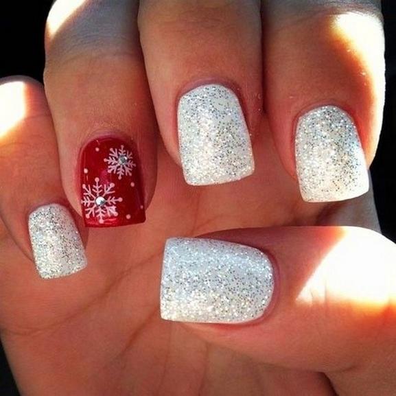 25 Fun Winter Nail Design Ideas 21