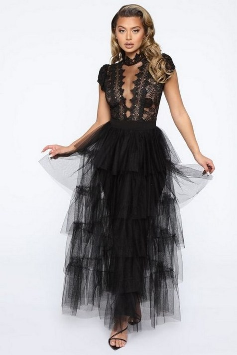 40 Simple Glam Black Tulle Skirt Outfits Ideas 12