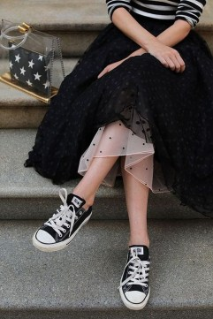 40 Simple Glam Black Tulle Skirt Outfits Ideas 15